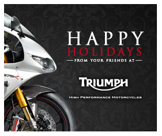 Triumph Holiday Ad